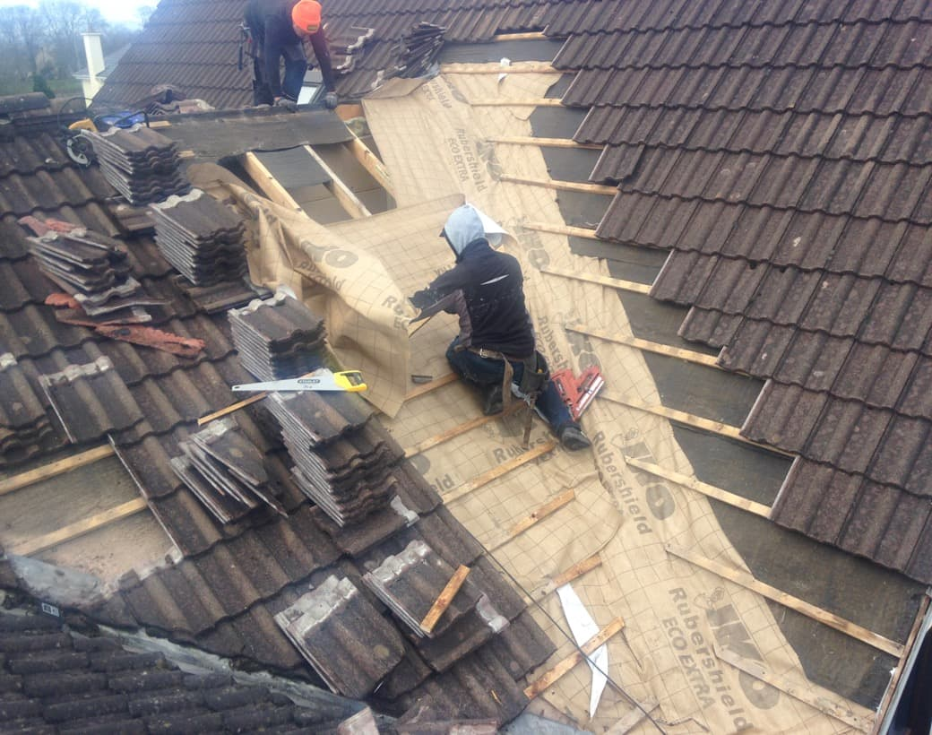 Roof Re Slating Castle Kerry